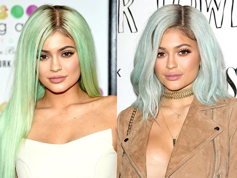 What celebrities wear lace front wigs